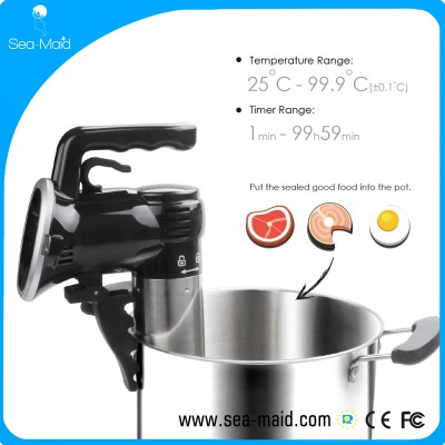2017 hot selling best quality sea-maid sous vide immersion cooker from factory supply to distributor supermarket wholesales