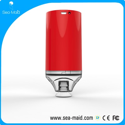 Sea-maid Vacuum Sealer Machine with 5 bags Starter Kit, Automatic vacuum one button easy to vacuum battery inside 1000 mah