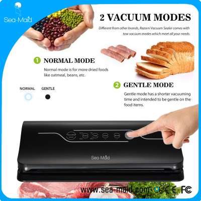 The Sea-maid new touch screen vacuum sealer machine  for household use