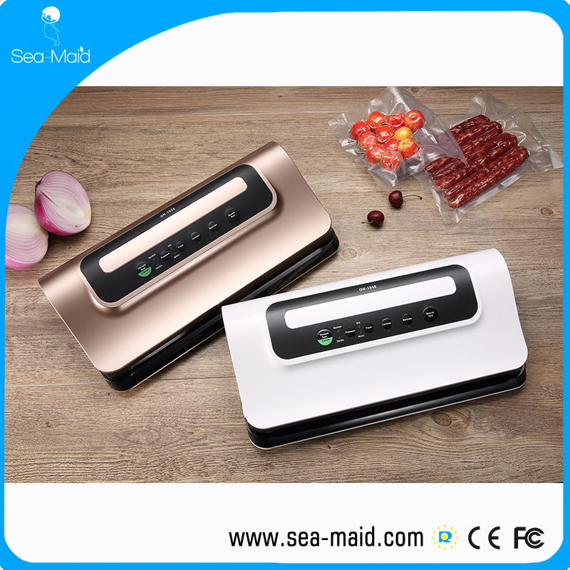 Sea-maid new vacuum sealer gold ,white and silver colors for your choose