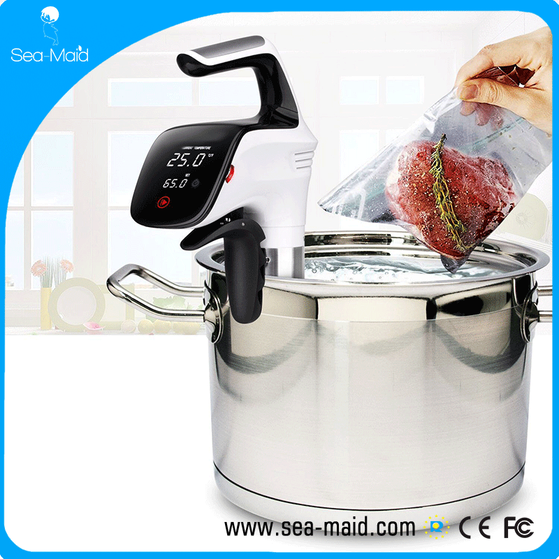 2017 Sea-maid sous vide Circulator immersion cooker with 850W white color
