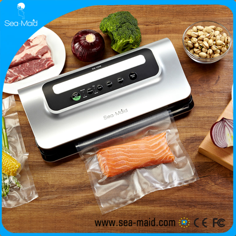 2017 hottest vacuum sealer for packing food ,keep fresher and healthier